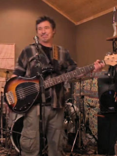 Jeff Phillips Splooge bassist and singer