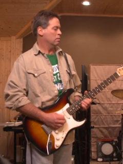 Mike Novy Splooge guitarist