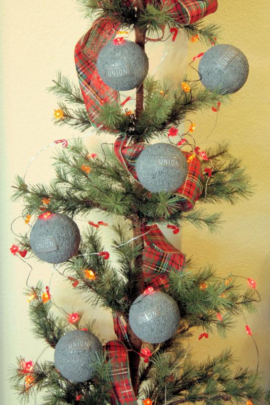 Balls on a tree