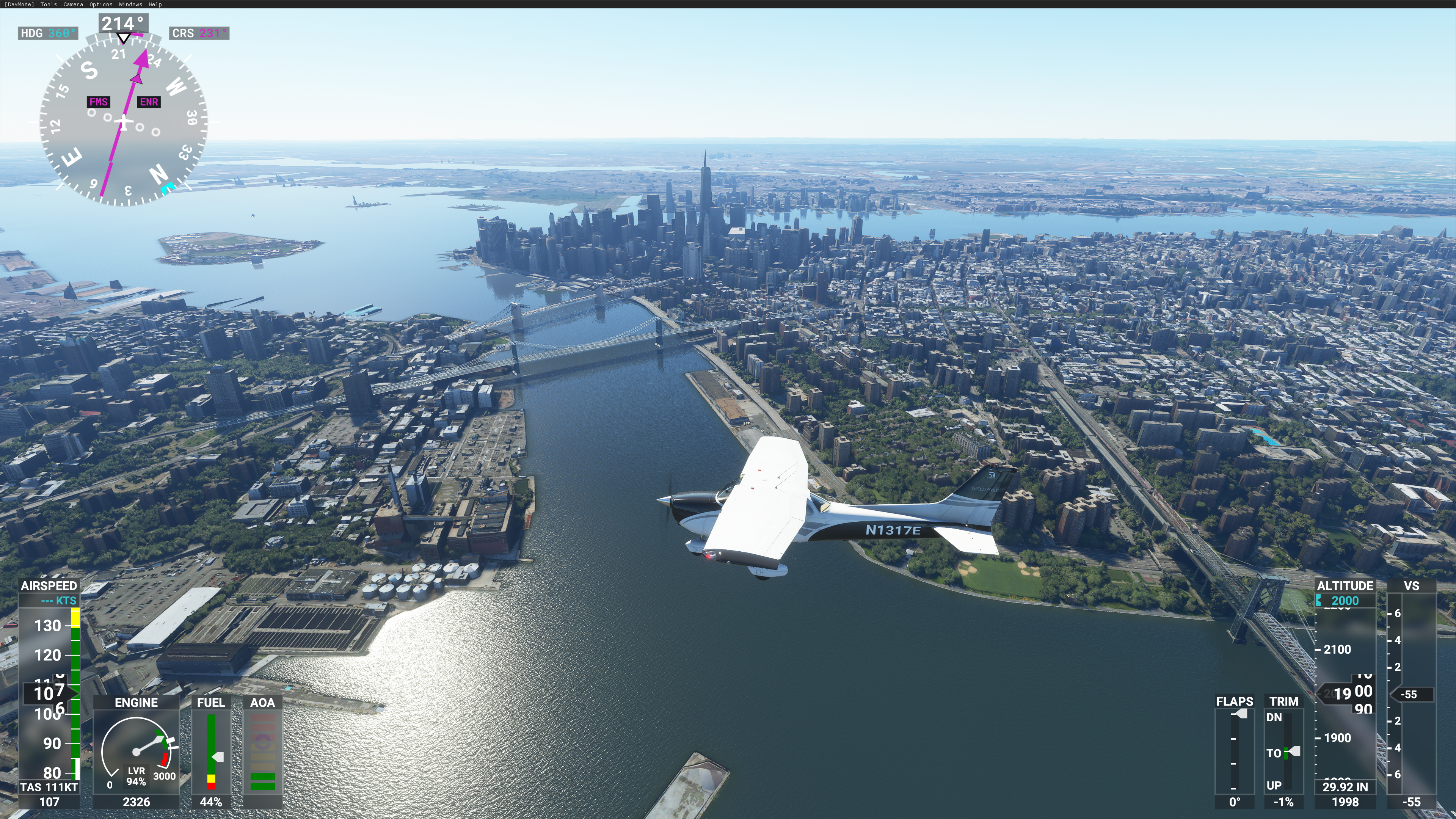 For comparison, here is lower Manhattan